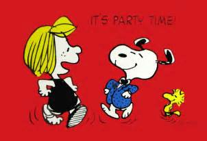 peppermint patty and snoopy party invitations