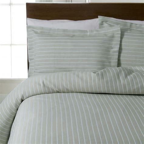 Khaki Duvet Design Port Stripes Khaki Green 100 Cotton Bedding