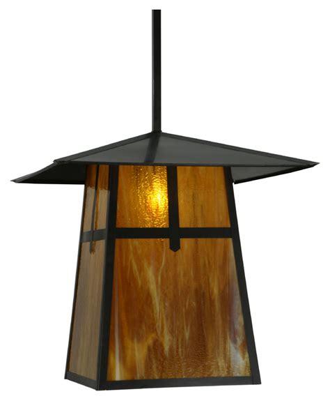 Craftsman Style Outdoor Lighting Fixtures Meyda 138217 Stillwater Cross Mission Craftsman 24 Quot Wide Outdoor Pendant Light Fixture