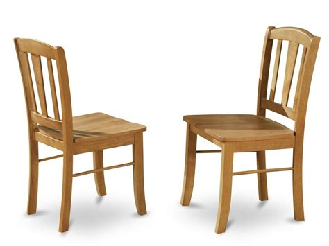 kitchen and dining room chairs set of 4 east west furniture dublin dinette kitchen dining chairs oak dlc oak w ebay
