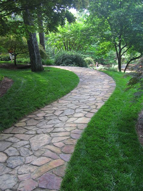 garden walkways flagstone pathway at gibbs gardens steps pathways