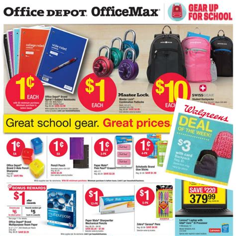 Office Depot One Cent Sale The Best Back To School Sales This Week Coupon Closet