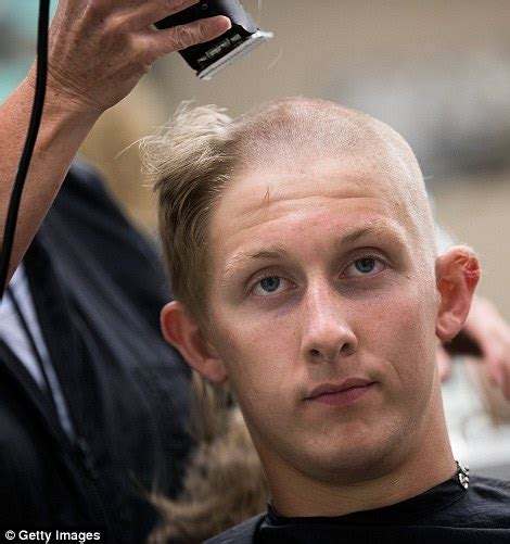 hair cut rules for rules faces 1 300 cadets get their military haircut as they report to