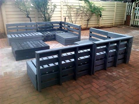 Pallet Patio Furniture Cushions Pallet Outdoor Furniture Plans Pallet Patio Furniture Pallet Designs And Pallet Patio