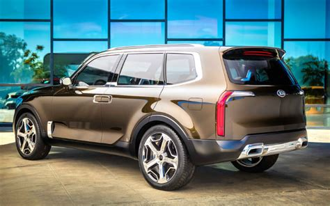 Kia Telluride For Sale by Kia Concept Vehicles Telluride Pop Kv7 Track Ster