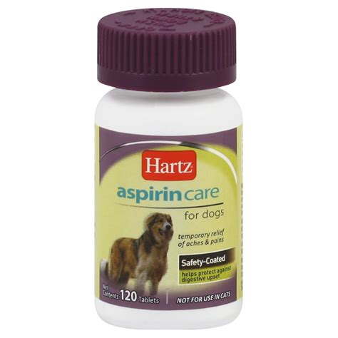 baby aspirin for dogs hartz advanced care enteric coated aspirin for dogs tablets 120 tablets