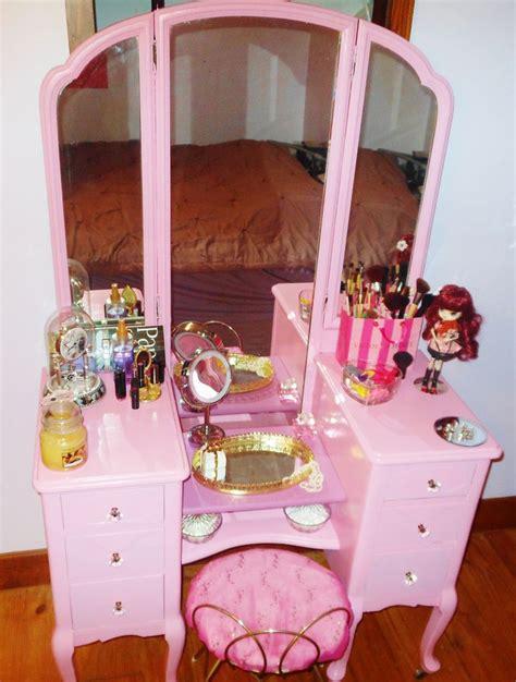 Vanity Set Pink My New Antique Pink Vanity Vanity Set