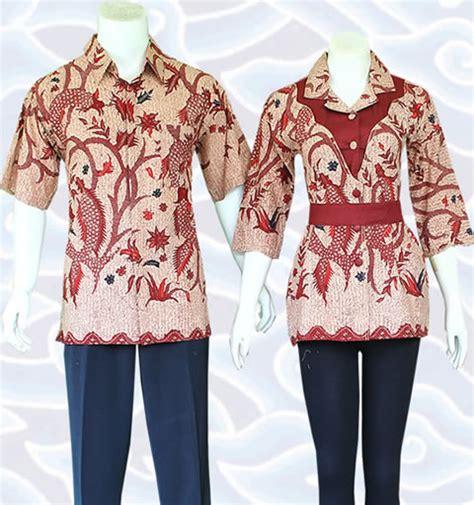 baju bluss anak t 0722 25 model baju batik blouse modern sarimbit