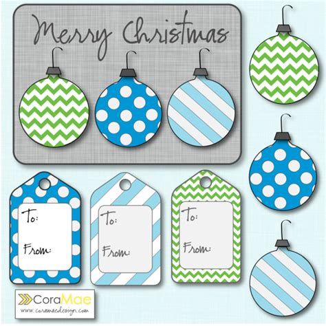 printable christmas ornament tags free christmas clipart kit gift tags christmas card