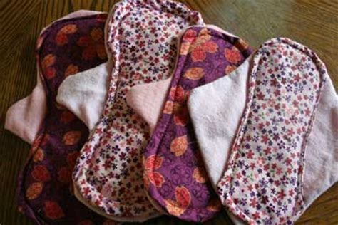 Handmade Sanitary Pads - make your own cloth pads keeper of the home