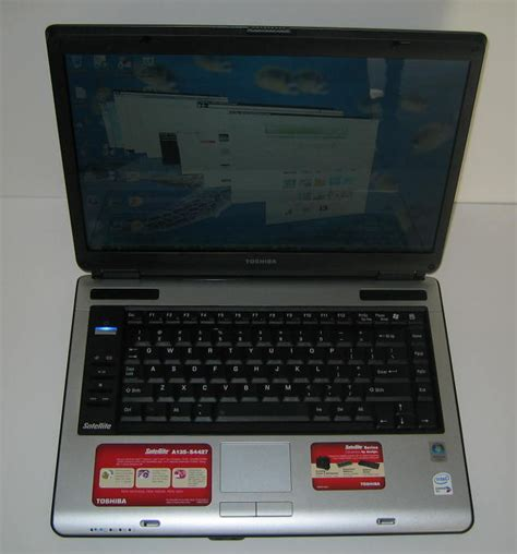 Toshiba Satellite A135 by Toshiba Satellite A135 Review Notebookreview
