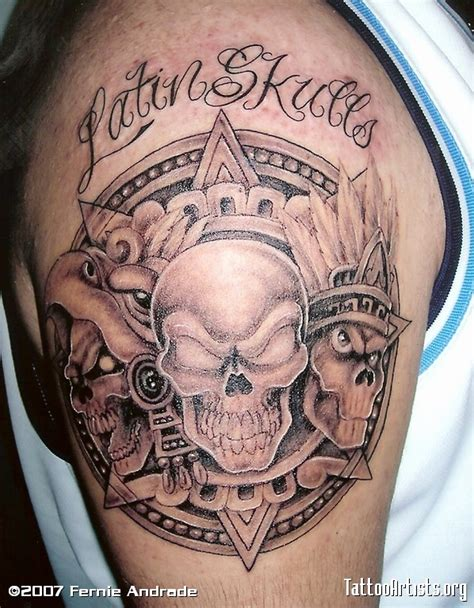 skulls tattoos website name