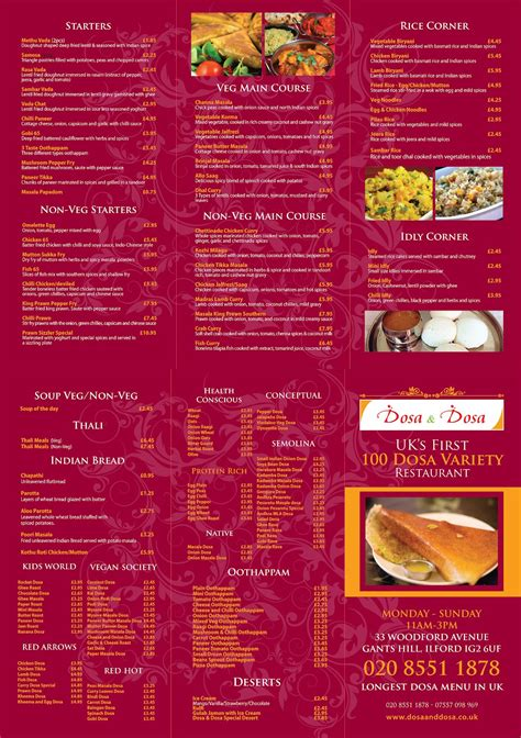 indian restaurant menu card templates free indian hotel menu card sles