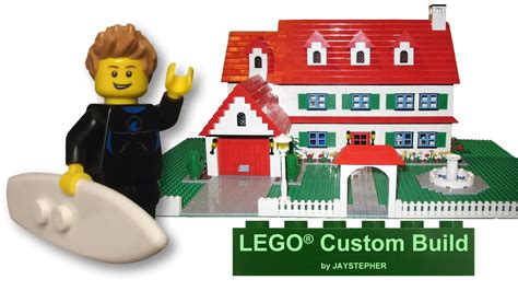 custom build house custom build 3 bedroom 2 bath lego home youtube