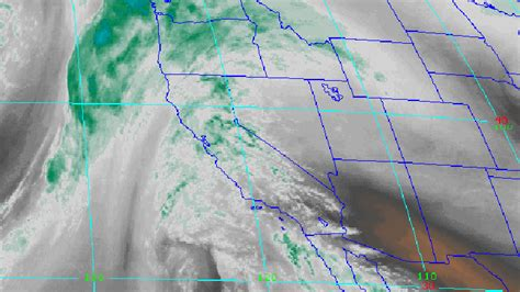 satellite weather map california rainstorm expected to give socal the chills ktla