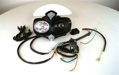 Pit Bike Headlight Kit With Voltage Regulator Klx110 Crf50