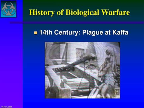 History Of Warfare ppt identification of bioterrorism agents powerpoint