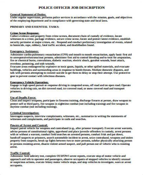 police officer resume cover letter and best perfect police resume