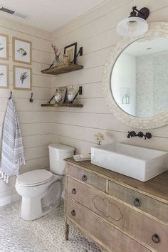 shiplap wikipedia white coastal bathroom with shiplap walls jennifer