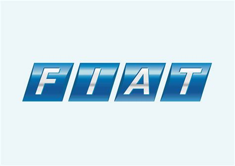 fiat logo transparent fiat vector logo vector graphics freevector com