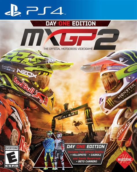 Box art and Day One Edition details revealed for MXGP2