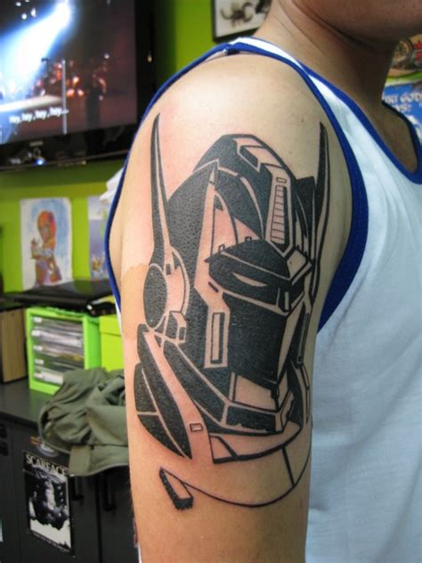 transformers tattoos ink