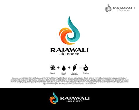 design logo perusahaan gallery design logo perusahaan energi pt rajawali liki ene