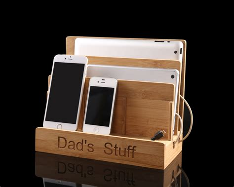 wood charging station organizer charging station organizerwood charging stationbest docking