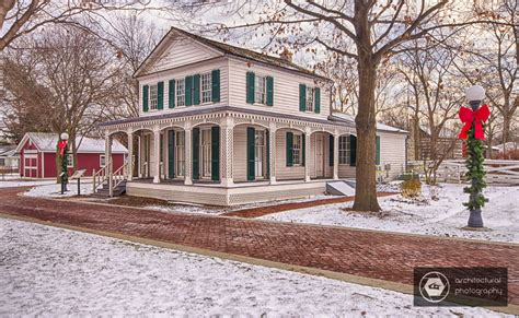 Post Office Naperville by Photographing Naper Settlement In Naperville In The Winter