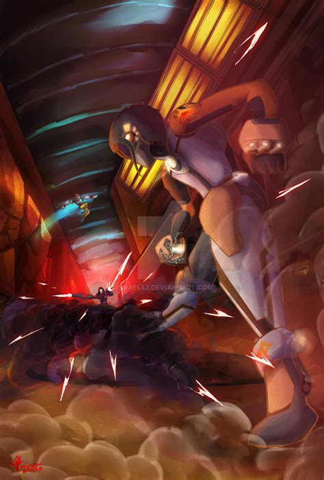 overwatch the ultimate book overwatch fighting the reaper by israel42 on