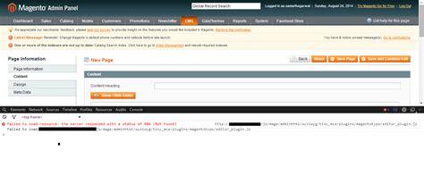 magento theme editor wysiwyg tinymce magento wysiwyg editor not working stack overflow