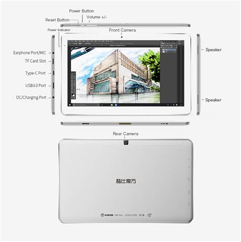 Mix Cube buy cube mix plus 4gb 128gb windows 10 tablet pc 10 6 inch