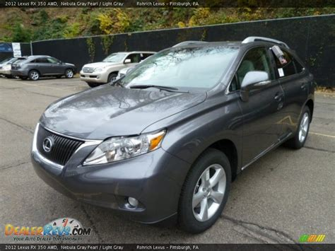 gray lexus rx 350 2012 lexus rx 350 awd nebula gray pearl light gray photo