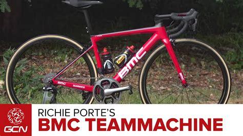 richie porte bike richie porte s bmc teammachine slr01 pro bike tour de