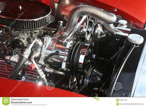 chrome motor classic chrome v8 engine stock photo image of fancy