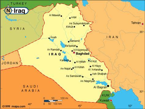 kuwait iraq map kuwait iraq map