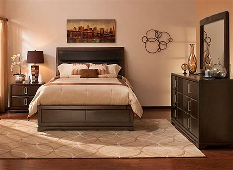 queen storage bedroom sets denali 4 pc queen platform bedroom set w storage bed coffee ebony raymour