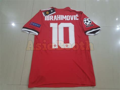 Grosirmurah Jersey Manchester United Mu Away 2017 2018 Grade Ori 2017 2018 uefa chions league manchester united jersey for personalized name number