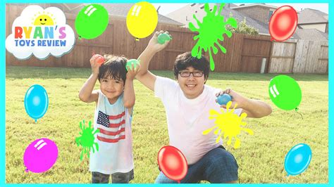 color water balloon fight color water balloons fight outdoors activities for