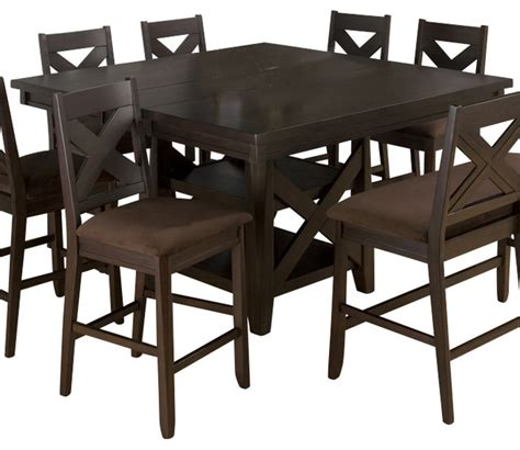 jofran 836 78 extension leaf dining table w shaped ends jofran 453 60 morgan espresso butterfly leaf counter