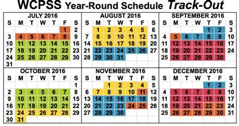 Wcpss Calendar Wcpss Year Calendar 2017 Calendar 2017