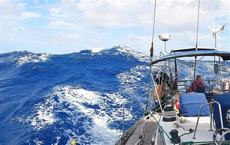 round sailboat family sailing expedition sail for good