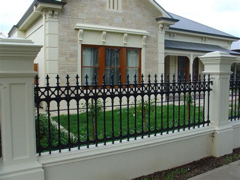 sturt cast aluminium fences gates traditional home fencing and gates adelaide by