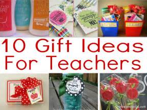 10 teacher gifts for the first day of school