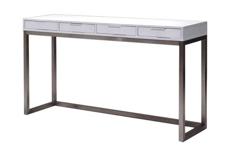 desk 40 inches long 40 console palco console high gloss white