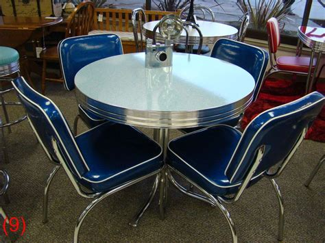 cool retro dinettes  style canadian  chrome sets