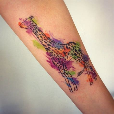 watercolor tattoo indiana 23 best giraffe images on giraffe