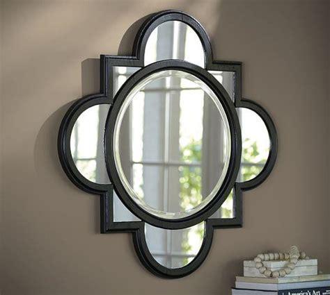 Black Geo Wall Mirror, 20x20   Kirkland's