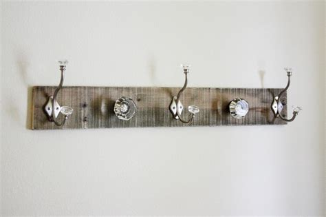 Door Knob Coat Rack by Pallet Coat Rack Glass Door Knob Repurpose Beingbrook