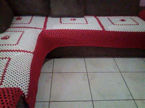 capa de sofa de canto em croche capa para sof 225 de croche elo7